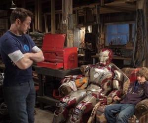 iron man 3 and robert downey jr image