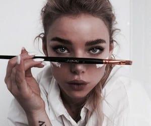 girl, art, and makeup image