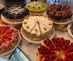 cakes and food image