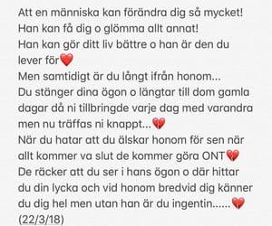 broken, sad, and svensk text image