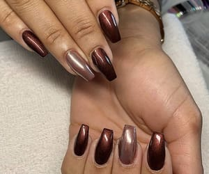 gel, nail, and instagram image