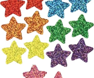 glitter, png, and star image