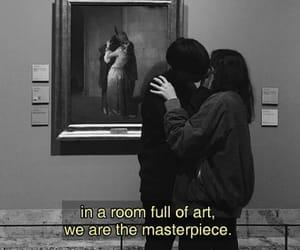 aesthetic, couple, and art image
