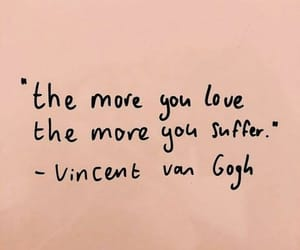 art, quote, and vincent van gogh image