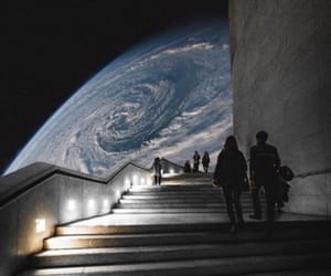 planet, space, and earth image