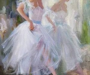 aesthetic, art, and ballerina image
