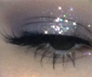 aesthetic, makeup, and glitter image