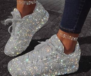 girl, beautiful, and shoes image