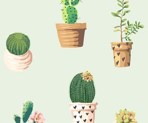 background, pattern, and plants image