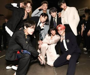 k-pop, halsey, and bts image