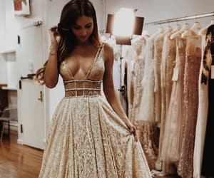 beauty, dress, and girls image