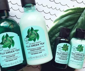 beauty, green tea, and body shop image