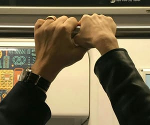 hands, aesthetic, and couple image
