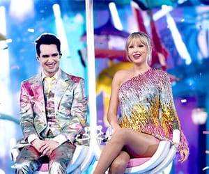 Taylor Swift, brendon urie, and singer image