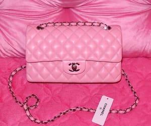 pink, chanel, and bag image