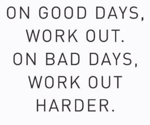 quotes, fitness, and gym image