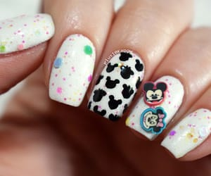 disney, glitter, and minnie mouse image
