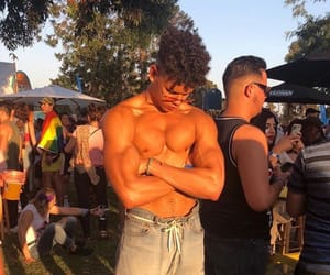 abs, boy, and festival image