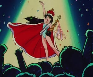 aesthetic, sailor moon, and sailor mars image