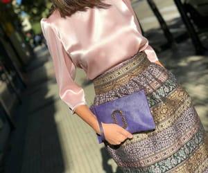 fashion, jupe, and pink image
