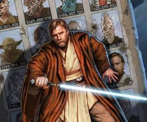 art, obi wan kenobi, and star wars image