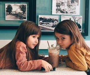 best friends and little girl image