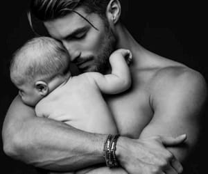 amor, baby, and man image