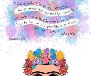 frida kahlo, vida, and frases español image