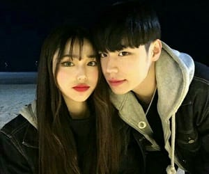 couple, couple cute, and couple asian image