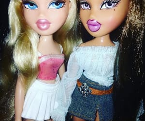 doll, outfit, and bratz image