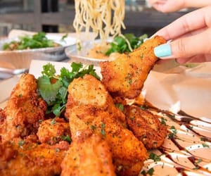 Chicken, delicious, and food image