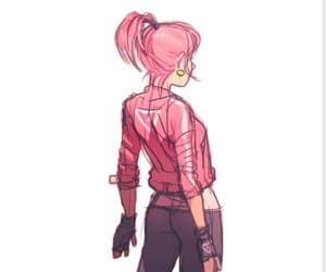 draw, pink hair, and annie mei image