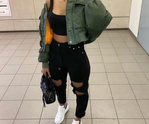 bomber, fashion, and goals image