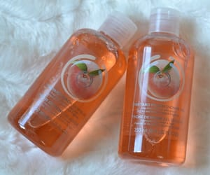 peach, the body shop, and orange image