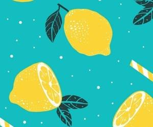 art, lemon, and wallpapers image