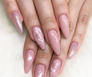 fashion, pink, and trendy nails image