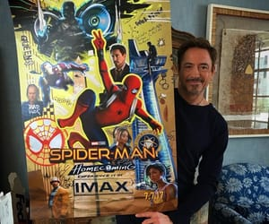 iron man, Marvel, and robert downey jr image