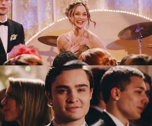 blair waldorf, chuck bass, and ❤ image