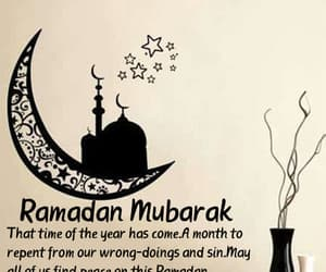 Ramadan, happy ramadan, and ramadan mubarak image