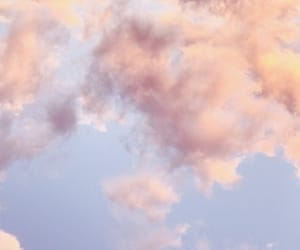 cloud, pastel, and sky image