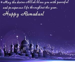 Ramadan, ramadan greetings words, and happy ramadan image