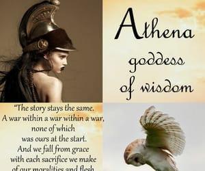athena, divine, and poem image