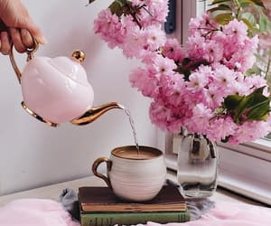 beautiful life, blossom, and tea image