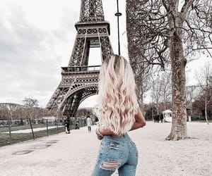 architecture, blonde, and blonde girl image