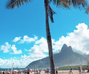 brazil, summer, and copacabana image