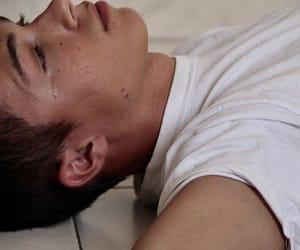 boy, sad, and cry image
