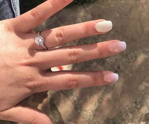 boyfriend, nails, and ring image