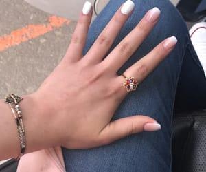 jewel, lové, and nails image