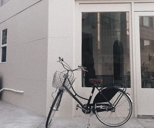 aesthetic, white, and bike image