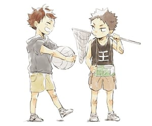 anime, kawaii, and oikawa image